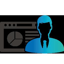 Icon für IT-Beratung von klein- und mittelständischen Unternehmen sowie Start-Ups