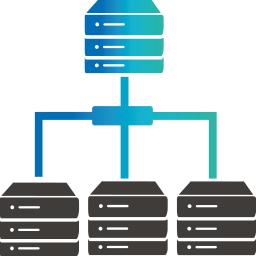 Icon für IT-Service: Servermanagement und Netzwerk-Administration