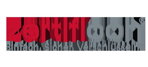 Logo von net-pulse-Kunde zertificon